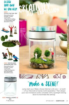 Make a Scene! A fun and crative way to disigen your own warmer!! Ember.Scentsy.us
