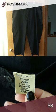 Black dress pants Stretchy comfy black dress pants. bechamel Pants