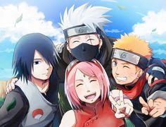 Team 7 in The Last Naruto Movie ♥♥♥ Kakashi, Sasuke, Sakura, Naruto Syafiqah Naruto Team 7, Naruto Kakashi, Anime Naruto, Naruto Fan Art, Hinata, Manga Anime, Wallpapers Naruto, Naruto Wallpaper, Sakura And Sasuke