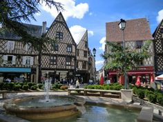 The City of Bourges, France - today.