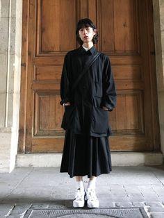 Yohji Yamamoto(ヨウジヤマモト)のダウンジャケット/コートを使ったコーディネート一覧