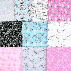 "A pack of 10 half yards from the ""Cats Rule"" collection by Rachael Hale for Camelot FabricsGreat designs for making masks for cat lovers!Just $30 through 5/28 with Free Shipping while they last! Mask Making, Fat Quarters, Yards, Cat Lovers, Quilts, Free Shipping, Blanket, Fabric, Collection"