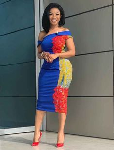 How to Look Classy Like Serwaa Amihere - 30+ Outfits in 2021 Latest African Fashion Dresses, African Print Dresses, African Dresses For Women, African Print Fashion, African Attire, African Prints, Nigerian Fashion, Ghanaian Fashion, Ghanaian Dress Styles