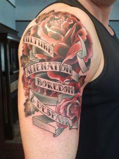 Manic Street Preachers tattoo