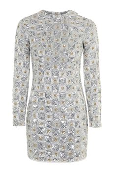 Limited Edition Sequin Embellished Mini Dress - New In- Topshop Singapore