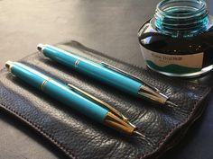 NAGASAWAオリジナル 限定「布引エメラルド色キャップレス万年筆」 あと僅か | ナガサワ文具センター