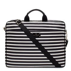 Kate Spade Stripe Chad Laptop Bag @Copy Cat Chic | Reichel Broussard this is all you!