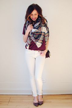 Spring Plaid and leopard