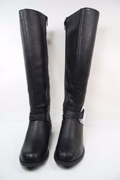 79e9a29d098 Call It Spring Mirilise Round Toe Knee High Riding Womens Boots Black Size  6  CallItSpring