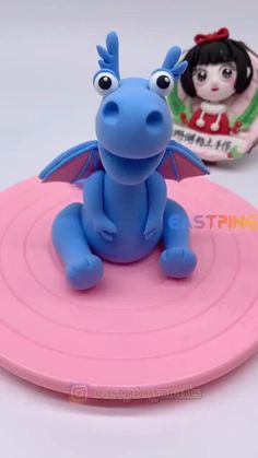Cute Polymer Clay, Polymer Clay Crafts, Diy Clay, Cake Topper Tutorial, Fondant Tutorial, Fondant Animals Tutorial, Cake Decorating Videos, Cake Decorating Techniques, Decors Pate A Sucre