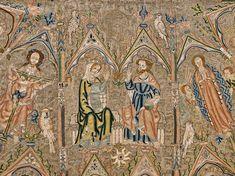 Toledo Cope. Tesoro de la Catedral, Museo de Tapices y Textiles de la Catedral