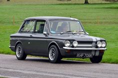 Hillman Super Imp, love the position of the fog lights