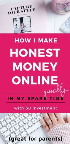 how to make money online easily and in your spare time