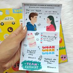 To All the Boys I've Loved Before: PS I Still Love You Stickers - Peter Kavinsky, Lara Jean, Yakult, Netflix, laptop stickers Lara Jean, Ps I Love, I Still Love You, Peter K, Valentines Day Poems, Always And Forever, Bullet Journal Ideas Pages, Netflix, Fan Art