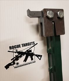 Hang your steel targets on T Post using these Super Duty T post mounts an easy, inexpensive way to hang your targets.