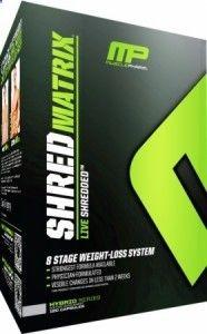 MP Shred-Matrix - Revolutionary 8-stage fat loss system! - eSupplements.com