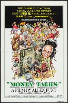 Money Talks poster. Jack Davis art