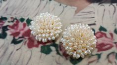Pretty Vintage 1950's Iridescent Seed Pearl by VintageGoodsToGo