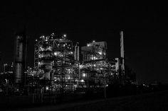 Oil Refinery at Night 3 | by mattjiggins