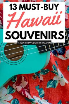 Heading to Hawaii and want to buy Hawaiian items to help you remember your trip? Find out the top 13 Best Hawaiian Souvenirs to Bring Home from your Hawaiian vacation Hawaii Travel Guide, Usa Travel Guide, Travel Usa, Travel Advice, Italy Travel, Travel Ideas, Travel With Kids, Family Travel, Family Trips