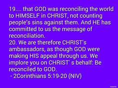 2 Corinthians 5:19-20