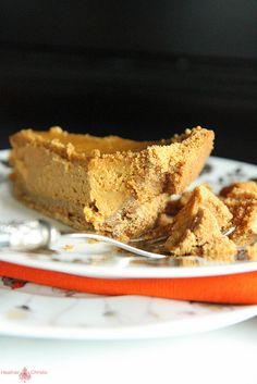 Pumpkin Brown Butter Graham Cracker Pie