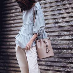 "15k Likes, 38 Comments - OOTD Magazine (@ootdmagazine) on Instagram: ""New Arrival bucket bag via @camelia_roma |ph.by @tailofsnowbear"""