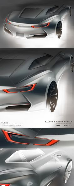 Camaro : Generation 6 by Namsuk Lee, via Behance
