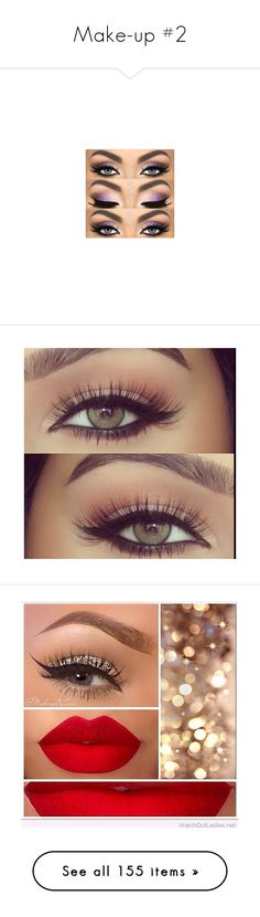 """""""Make-up #2"""" by lifeofmarta ❤ liked on Polyvore featuring beauty products, makeup, eye makeup, eyes, beauty, highlight makeup, mineral cosmetics, mineral makeup, polished makeup and gloss makeup"""