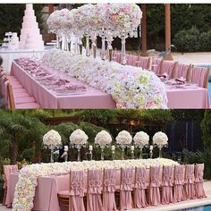 dining in the midst of fresh air Pink Wedding Receptions, Reception Decorations, Event Decor, Luxury Wedding, Dream Wedding, Wedding Day, Wedding Kiss, Wedding Goals, Rose Wedding