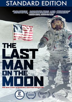 Last Man on the Moon (Space Dvd). http://www.aerospaceguide.net/dvd/space.html  #nasa #apollo #apollo17 #dvds #eugene #cernan #moon #missions #saturnv
