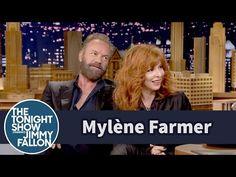 Милен Фармер наказывает Джимми Фэллон за его плохой французский. Mylène Farmer Punishes Jimmy Fallon for His Bad French - YouTube