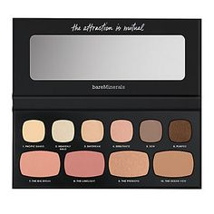 The Neutral Attraction. I decided to give this a shot, and I have to say I love everything included in this, bronzers and blush included!