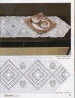 Gallery.ru / Фото #30 - crochet arte 3-8 - saltic Crochet Patterns Filet, Macrame, Decorative Boxes, Rugs, Home Decor, Crochet Table Runner, Fabric Painting, You Complete Me, Art Crafts