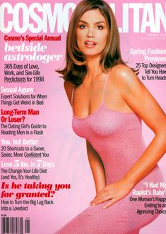Cindy Crawford - Cosmo Jan 1998