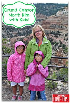 Grand Canyon North Rim with Kids - Great Family Road Trips!