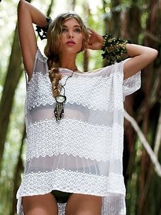 Free People Moonlight Breeze Tunic at Free People Clothing Boutique - StyleSays