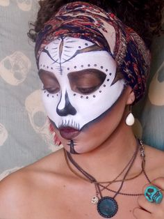Voodoo Princess Makeup by Clara André #Voodoo #makeup #neworleans #louisiana