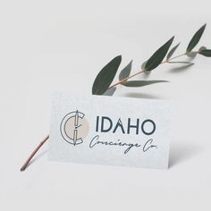Design brushed metal business card luxury business card idaho concierge the first and only luxury lifestyle management and idaho concierge in boise colourmoves