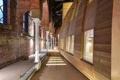 Image 6 of 28 from gallery of Ashton Old Baths / Modern City Architecture & Urbanism. Photograph by James Maddox Adaptive Reuse, English Heritage, Architecture Office, Modern City, Baths, Facade, Extensions, Photograph, Gallery