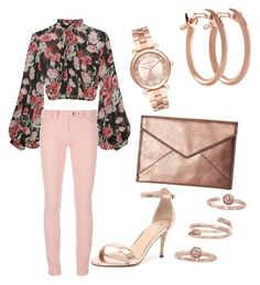 roses are pink by sumayra-marie-padin on Polyvore featuring polyvore fashion style Jill Stuart Balenciaga Verali Rebecca Minkoff Pori Michael Kors Kendra Scott clothing