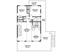 2nd Floor Plan, 006G-0167