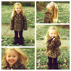 Another cute little girl's outfit, if the jacket actually fits .