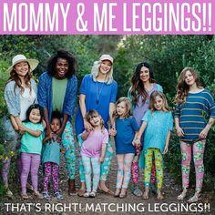 New Mommy and Me sets! LuLaRoe www.facebook.com/lularoebytaryn