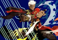 """Post with 67 votes and 3744 views. Tagged with fate grand order; """"Alternate Self"""" Fate Archer, Archer Emiya, Trace On, Shirou Emiya, Fate Characters, Fate Stay Night Anime, Fate Anime Series, Fate Zero, Type Moon"""