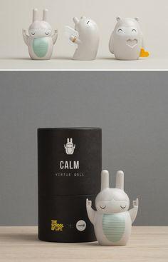 Virtue Dolls, edição limitada do toyart criado pela dupla do Eggpicnic em parceria com Momiji HQ + The School of Life.