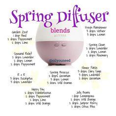 Spring diffuser blends!