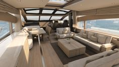 World Cup fever on board the new Sunseeker 80 Sports Yacht