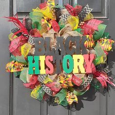 Nautical Wreath, Patriotic Wreath, 4th Of July Wreath, Painted Wooden Signs, Hand Painted, Red Peekaboo, Black Wreath, African Home Decor, Front Door Decor