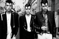 Punk meets Teddy Boy                                                                                                                                                                                 More